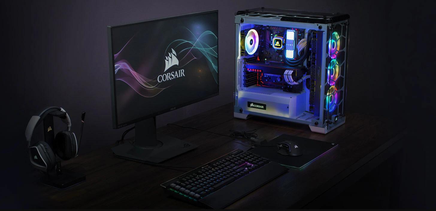 Chuột không dây Corsair Iron claw RGB (USB/RGB/Đen) (CH-9317011-AP) có thể tuỳ chỉnh không giới hạn với phần mềm ICUE