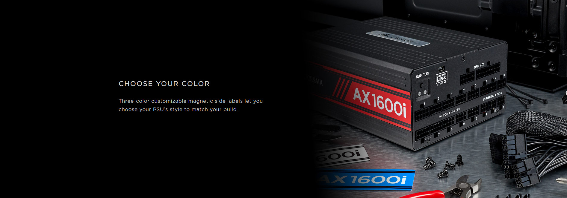 Nguồn Corsair AX1600i 1600W (80 Plus Titanium/ Full Modular/Màu Đen) giới thiệu 3