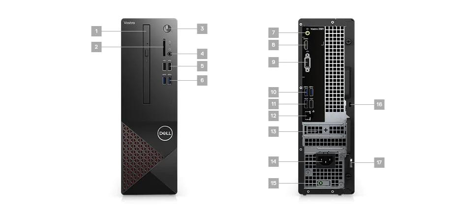 PC Dell Vostro 3681 SFF mô tả