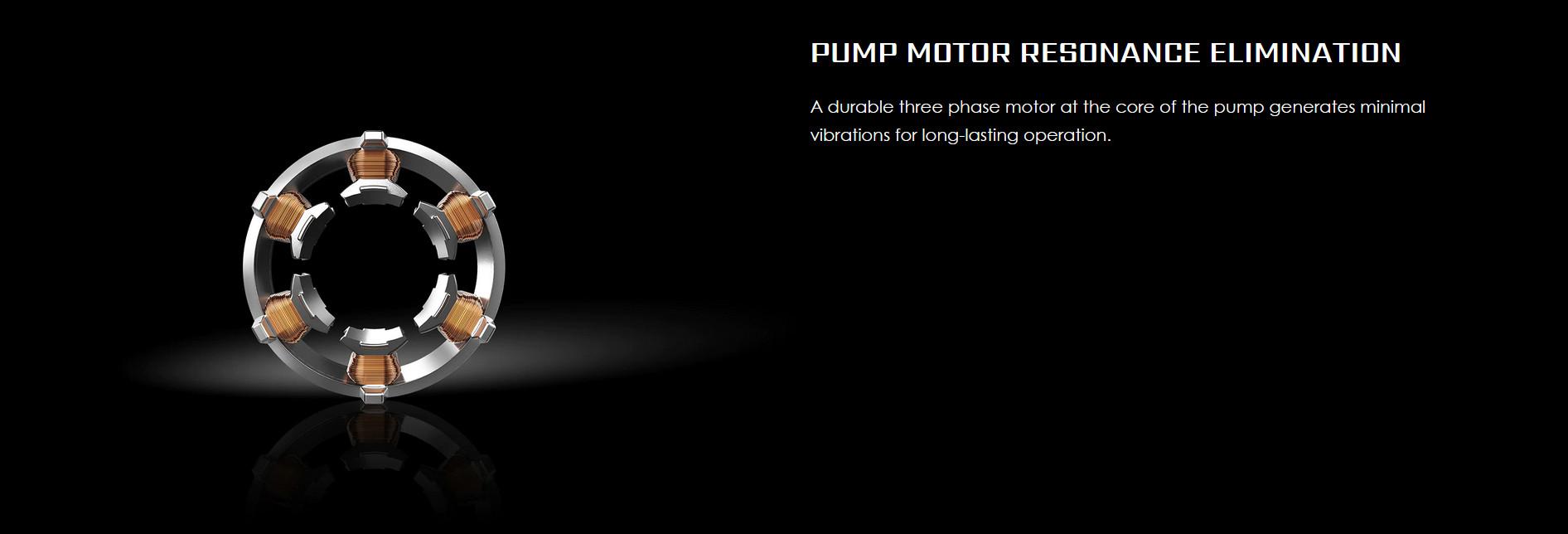 Thiết kế bơm với Rotor 3 pha hoạt động bền bỉ của Tản nhiệt nước CPU MSI MAG CORELIQUID 360R