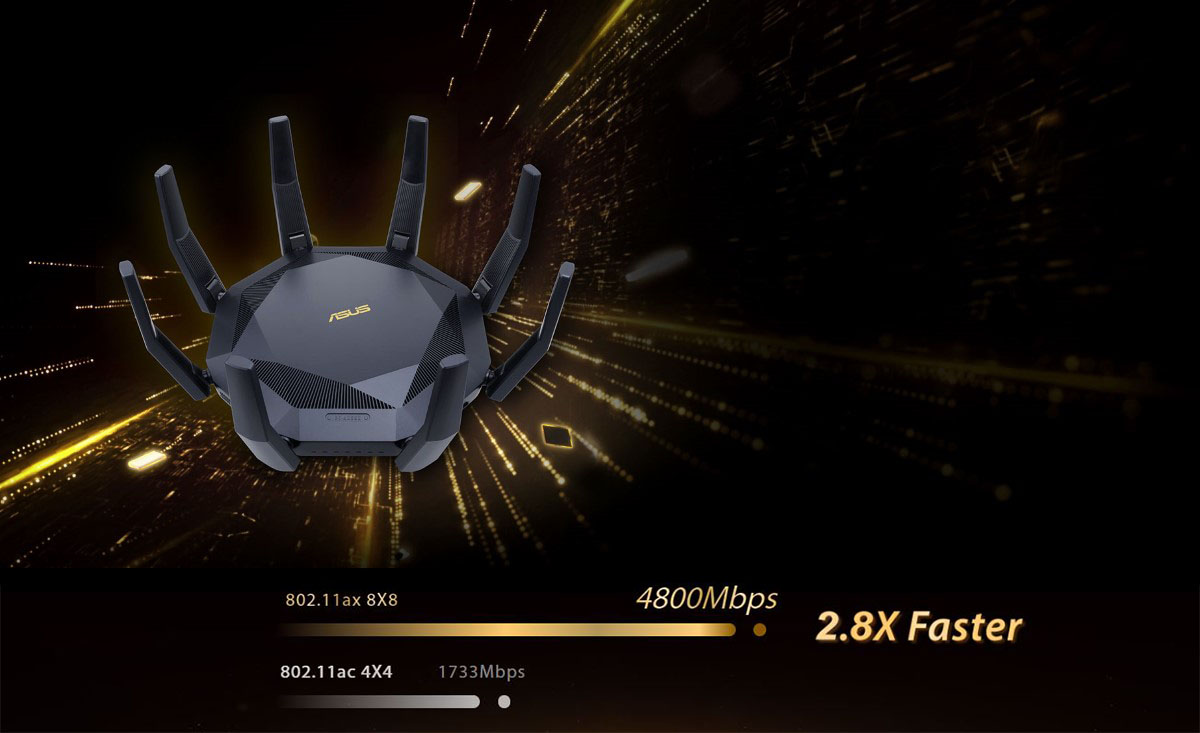 Router Gaming ASUS RT-AX89X 1