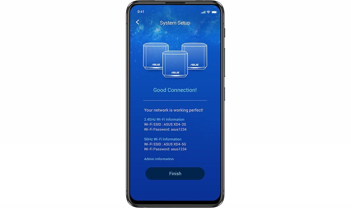 Bộ phát wifi ASUS XD4 (B-2-PK) Mesh wifi 6, Chuẩn AX1800 6