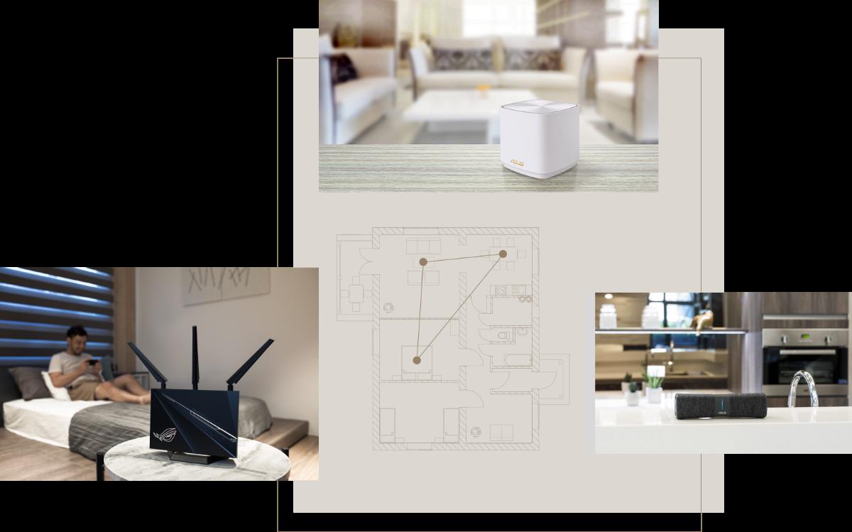 Bộ phát wifi ASUS XD4 (B-2-PK) Mesh wifi 6, Chuẩn AX1800 9