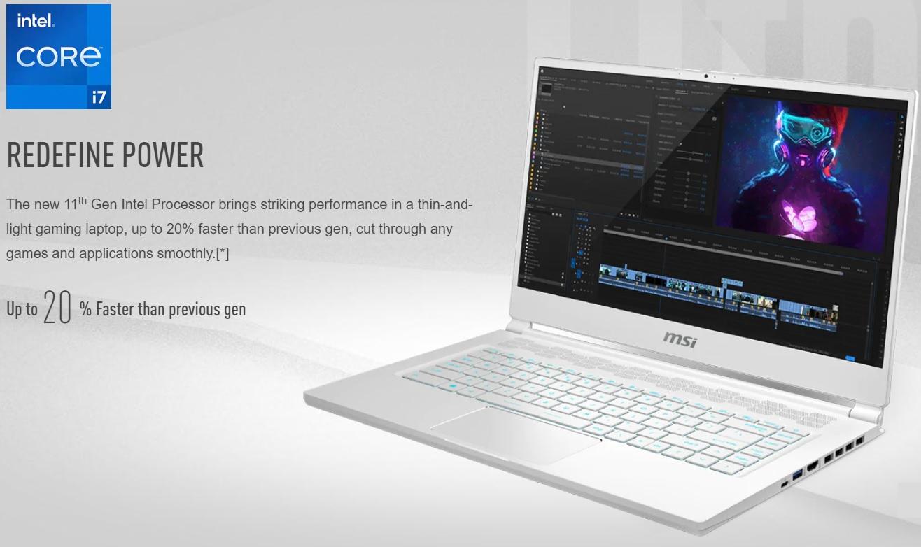 Laptop MSI Gaming Stealth 15M-3