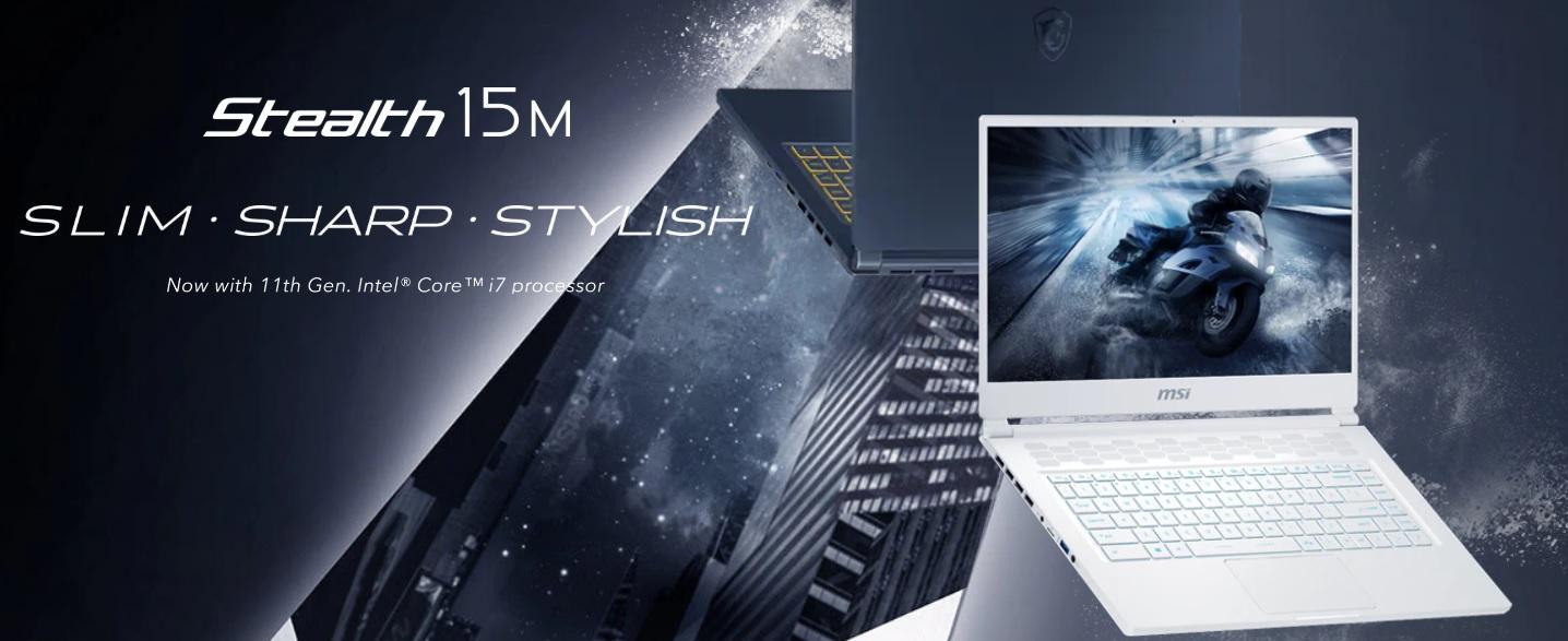 Laptop MSI Gaming Stealth 15M-2