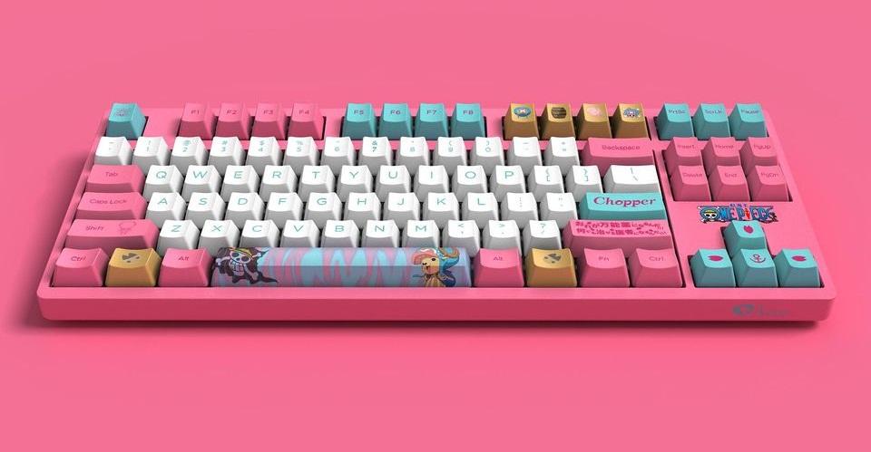 Bàn phím cơ AKKO 3087 v2 One Piece - Chopper (USB/AKKO Pink switch) sử dụng switch Akko chất lượng cao