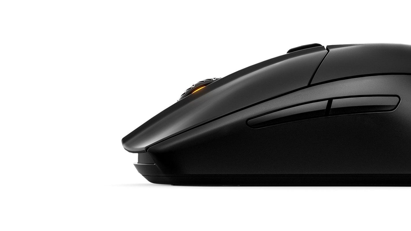 Chuột không dây Steelseries Rival 3 Wireless (62521) (USB/Đen) trang bị nút bấm với độ bền cao