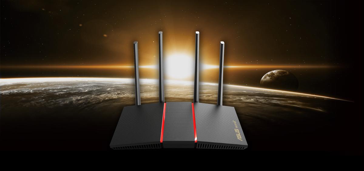 Bộ phát wifi ASUS RT-AX55 Tốc độ AX1800