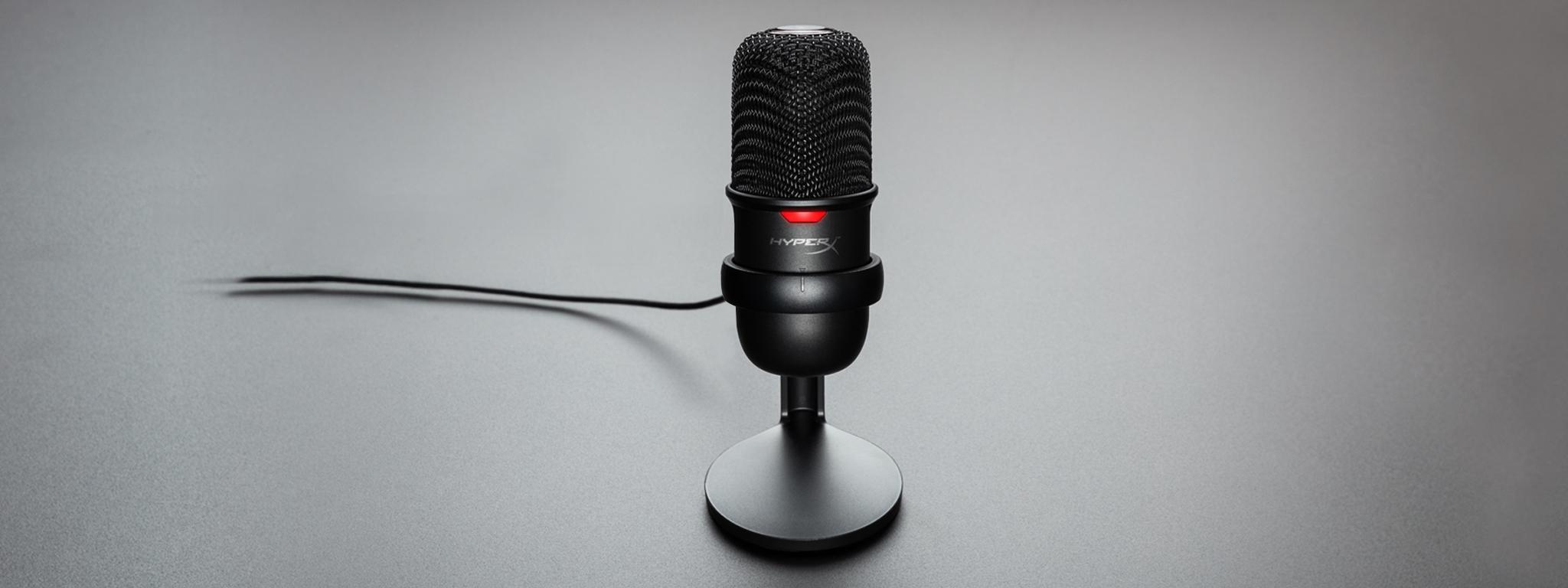 Giới thiệu Microphone Kingston HyperX Solocast - Standalone Microphone HMIS1X-XX-BK/G