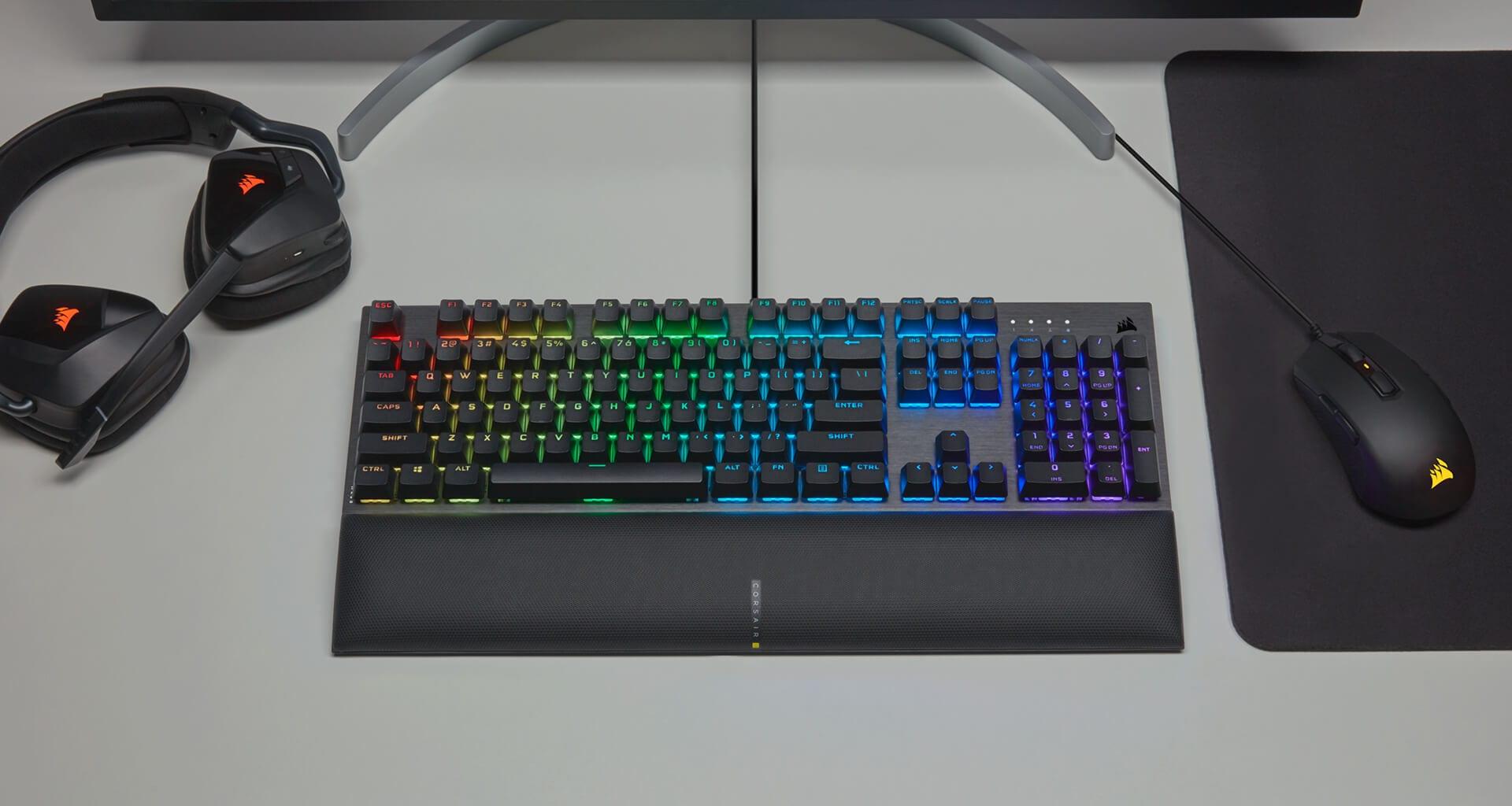 Giới thiệu Bàn phím Corsair K60 PRO SE (USB/RGB LED/Cherry MX Viola) (CH-910D119-NA)