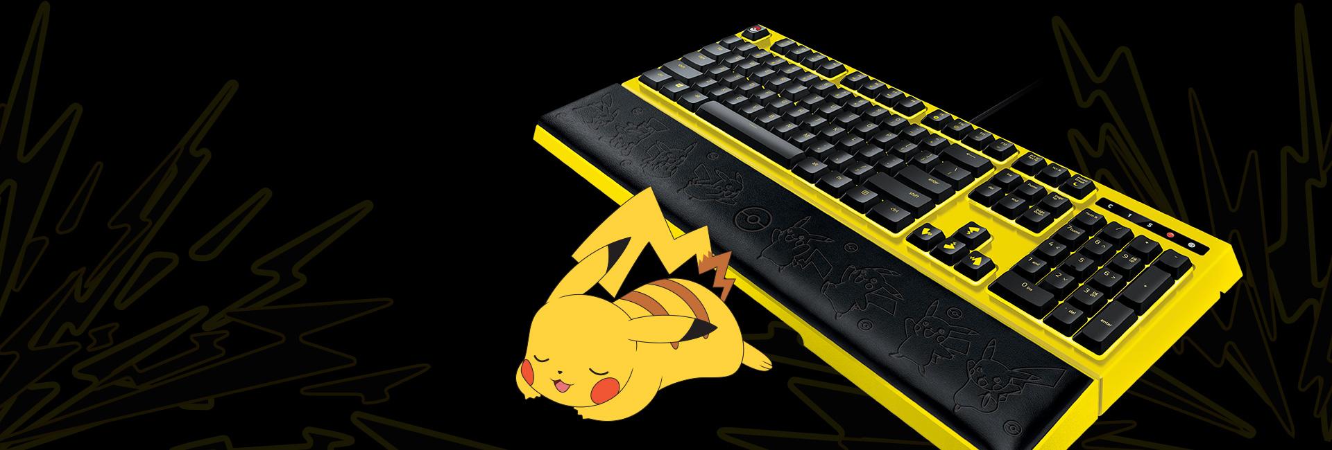 Bàn phím Razer Pokemon Pikachu (USB/RGB/Membrane switch/Limited)  (RZ03-02043700-R3D1)