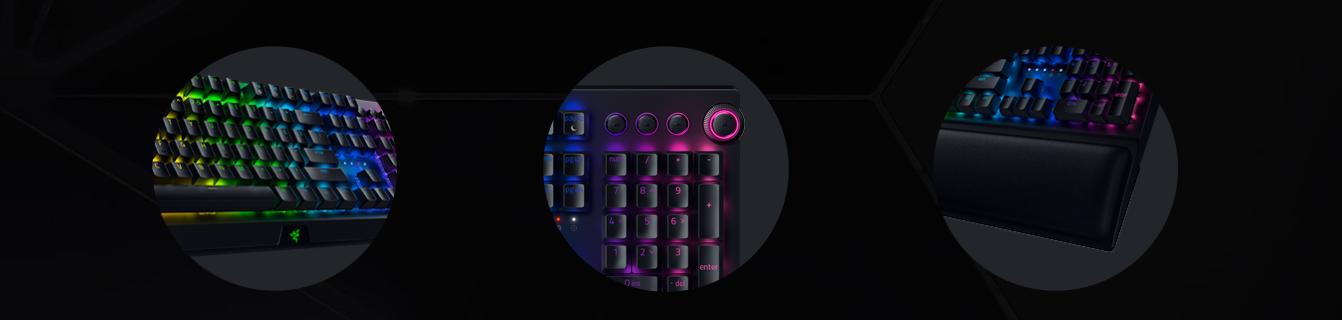 Bàn phím Không dây Razer BlackWidow V3 Pro (USB Wireless/Green switch/Bluetooth) (RZ03-03530100-R3M1) có thiết kế chắc chắn, tiện dụng