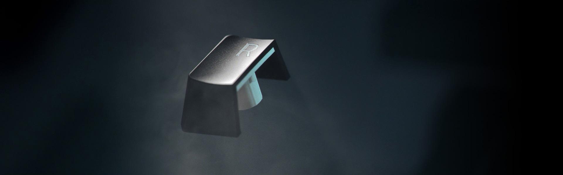 Bàn phím Không dây Razer BlackWidow V3 Pro (USB Wireless/Green switch/Bluetooth) (RZ03-03530100-R3M1) sử dụng keycap ABS với công nghệ in Doubleshot