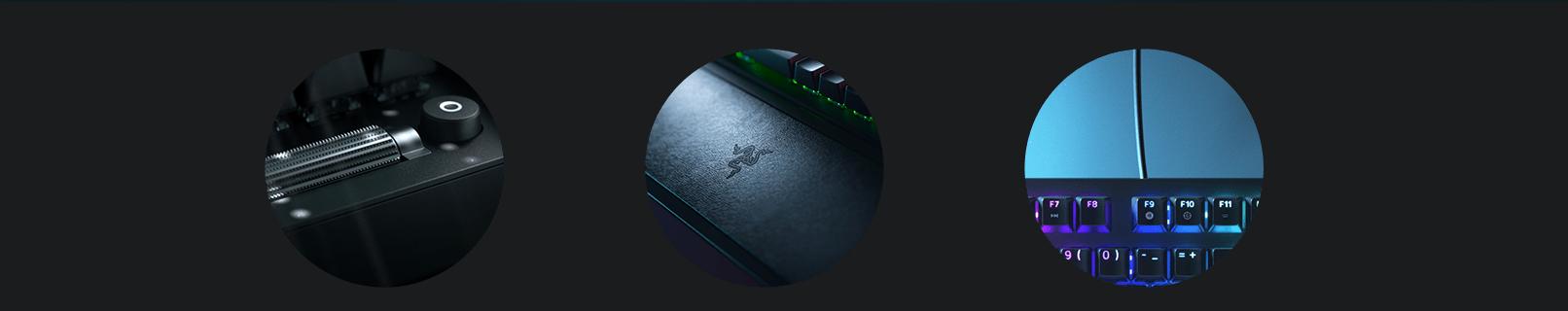 Bàn phím Razer BlackWidow V3 (USB/Green switch) (RZ03-03540100-R3M1) có thiết kế tiện lợi