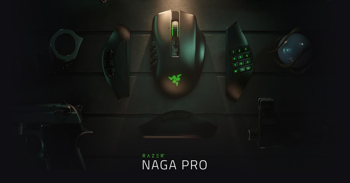 Giới thiệu Chuột không dây Razer Naga Pro Wireless (USB/RGB) (RZ01-03420100-R3A1)