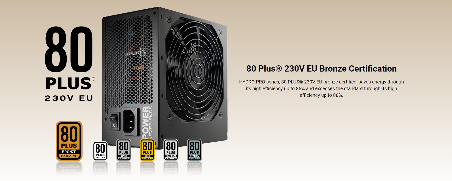 Nguồn FSP HYDRO PRO Series HP2-700  PPA7004304 (80 Plus Bronze/Màu Đen) giới thiệu 2