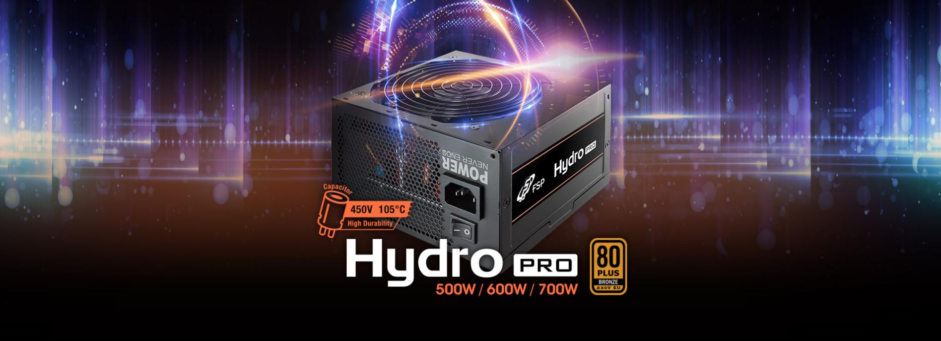Nguồn FSP HYDRO PRO Series HP2-700  PPA7004304 (80 Plus Bronze/Màu Đen) giới thiệu