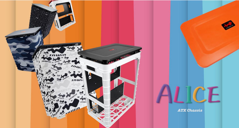 Case Inwin Alice Orange Top Cover giới thiệu 1