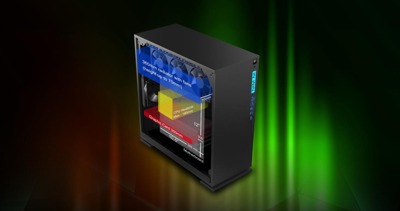 Inwin 303C Black giới thiệu 6