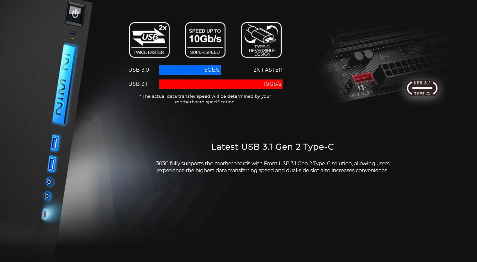 Inwin 303C Black giới thiệu 3