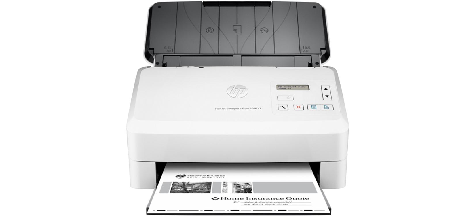 Máy quét HP Digital Sender Flow 8500 fn2 14