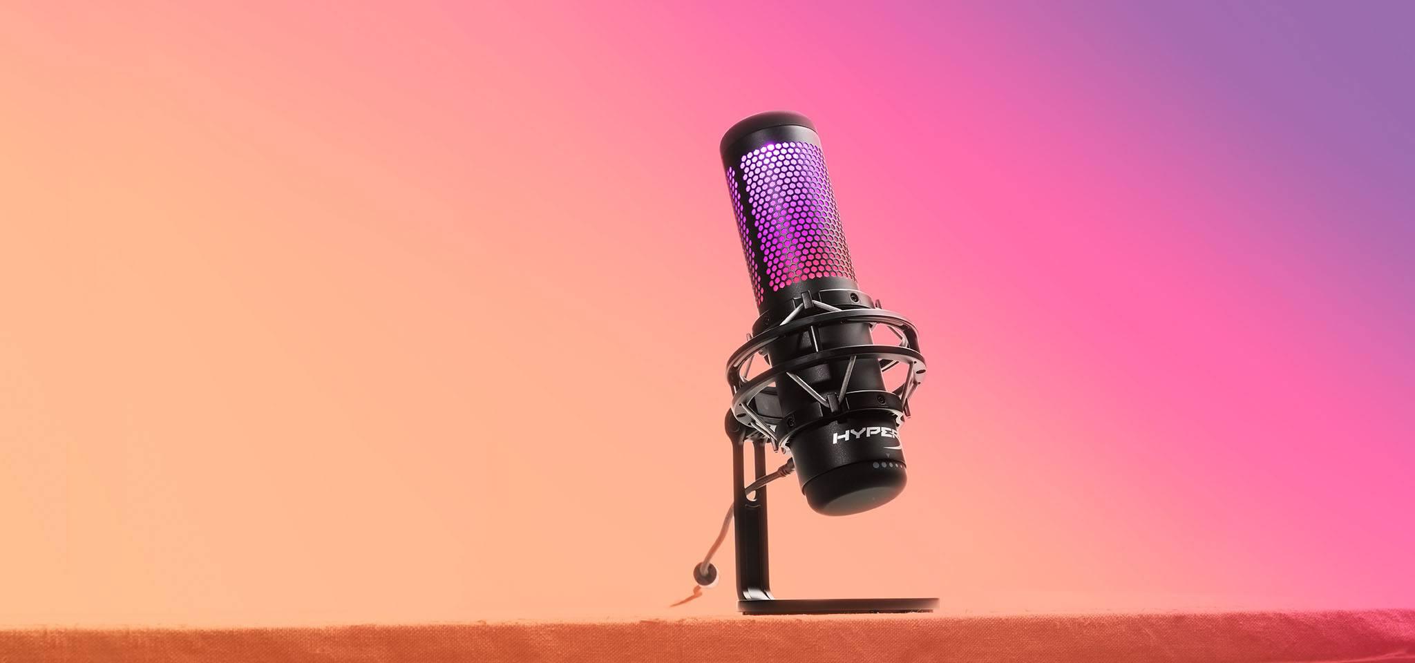 Giới thiệu Microphone Kingston HyperX QuadCast S RGB - HMIQ1S-XX-RG/G