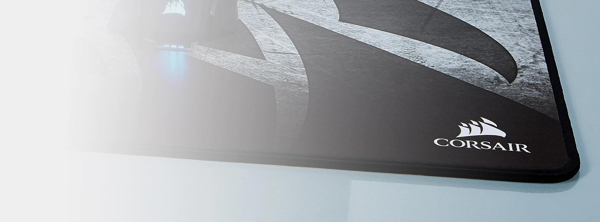 Bàn di chuột Corsair MM350 X-Large 450 x 400 x 5mm CH-9413561-WW Xám  có bề mặt chống bong tróc, sờn vải
