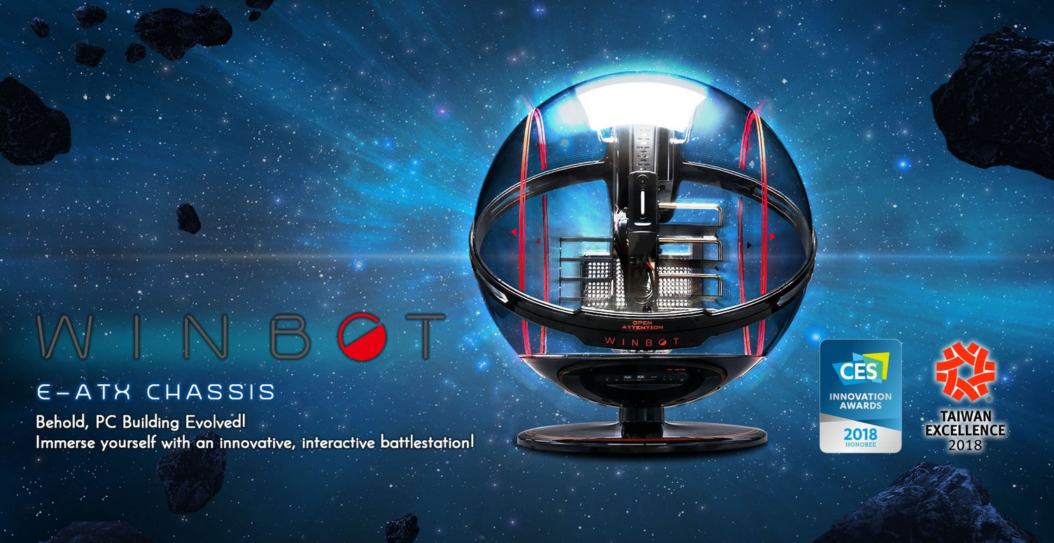 In-Win WINBOT Black/Red - Ultra-rare Limited Edition giới thiệu 1