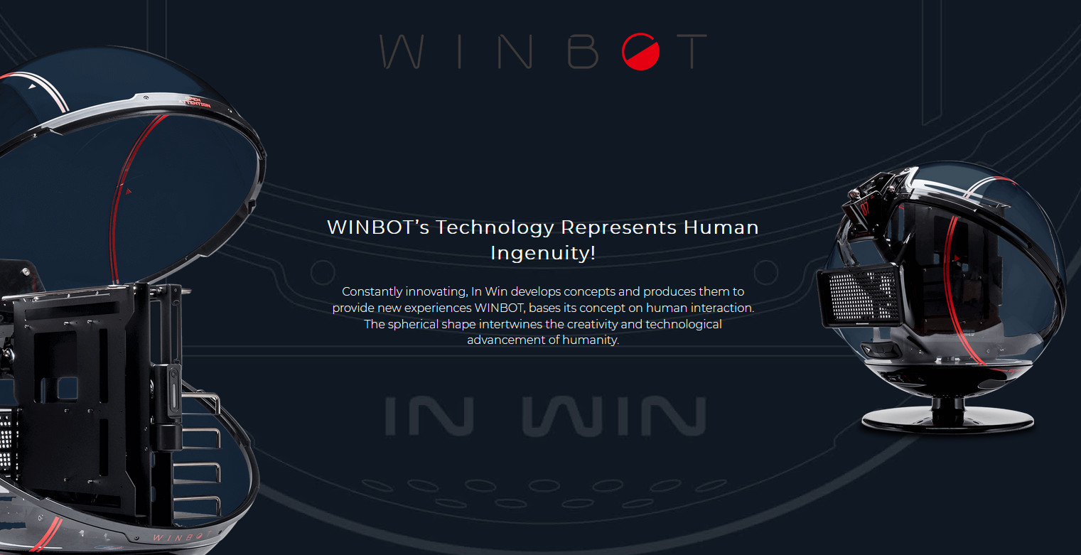 In-Win WINBOT Black/Red - Ultra-rare Limited Edition giới thiệu 2