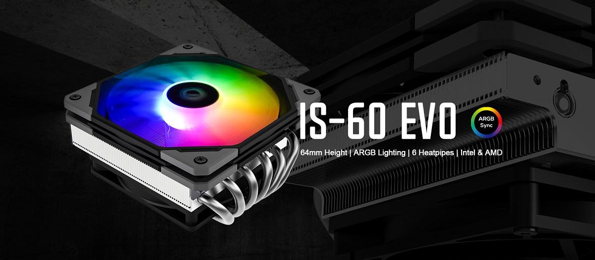 Giới thiệu Tản nhiệt khí CPU ID-COOLING IS-60 EVO ARGB