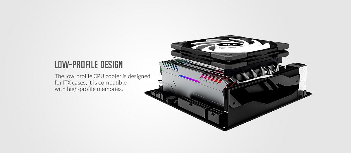 Thiết kế của Tản nhiệt khí CPU ID-COOLING IS-60 EVO ARGB
