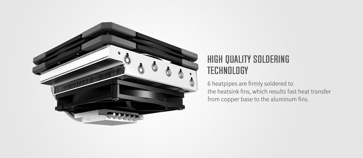 Công nghệ làm mát của Tản nhiệt khí CPU ID-COOLING IS-60 EVO ARGB