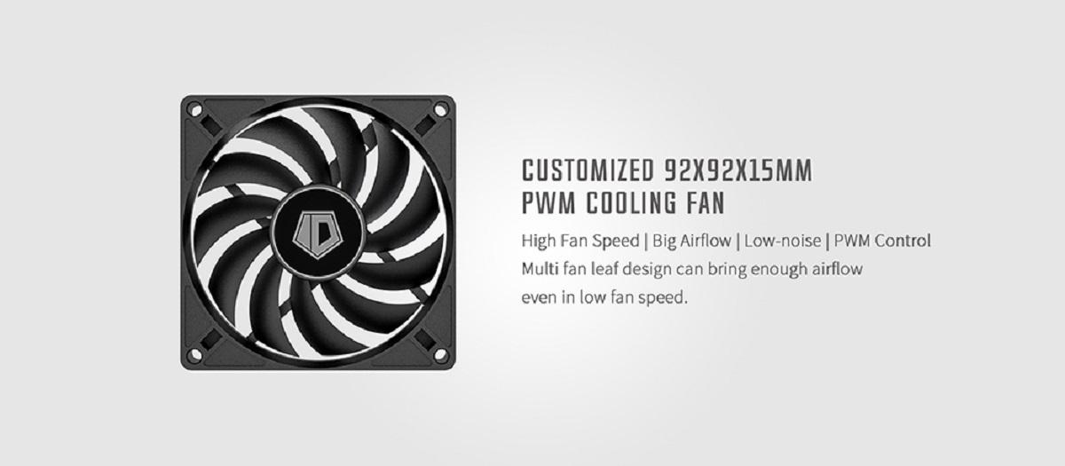 Tản nhiệt khí CPU ID-COOLING IS 47K được tối ưu cho lượng gió lớn, tốc độ cao, độ ồn tối thiểu