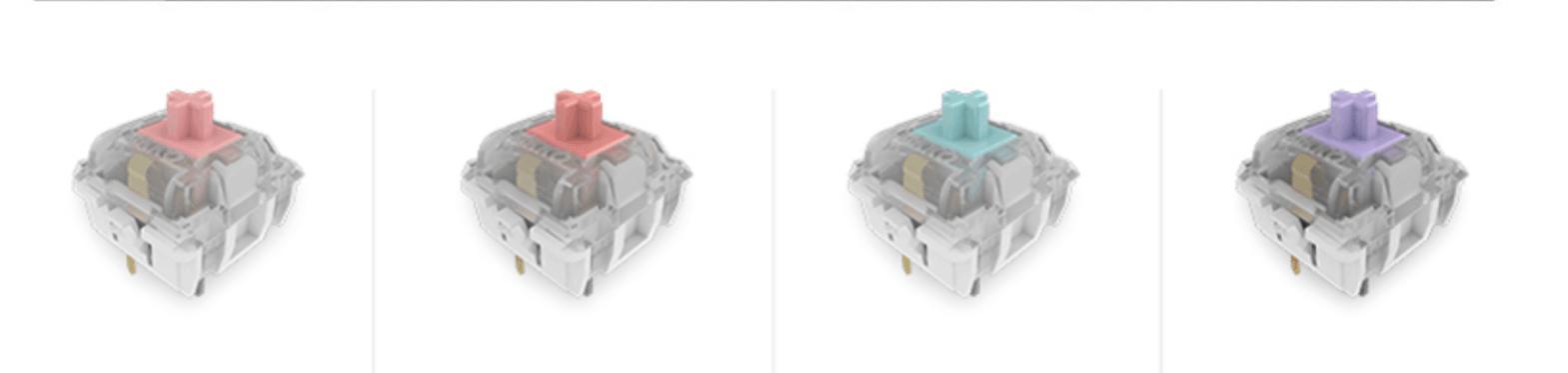 Bàn phím AKKO 3108 Dragon Ball Z - Frieza (Akko Pink sw) sửu dụng switch Akko cao cấp
