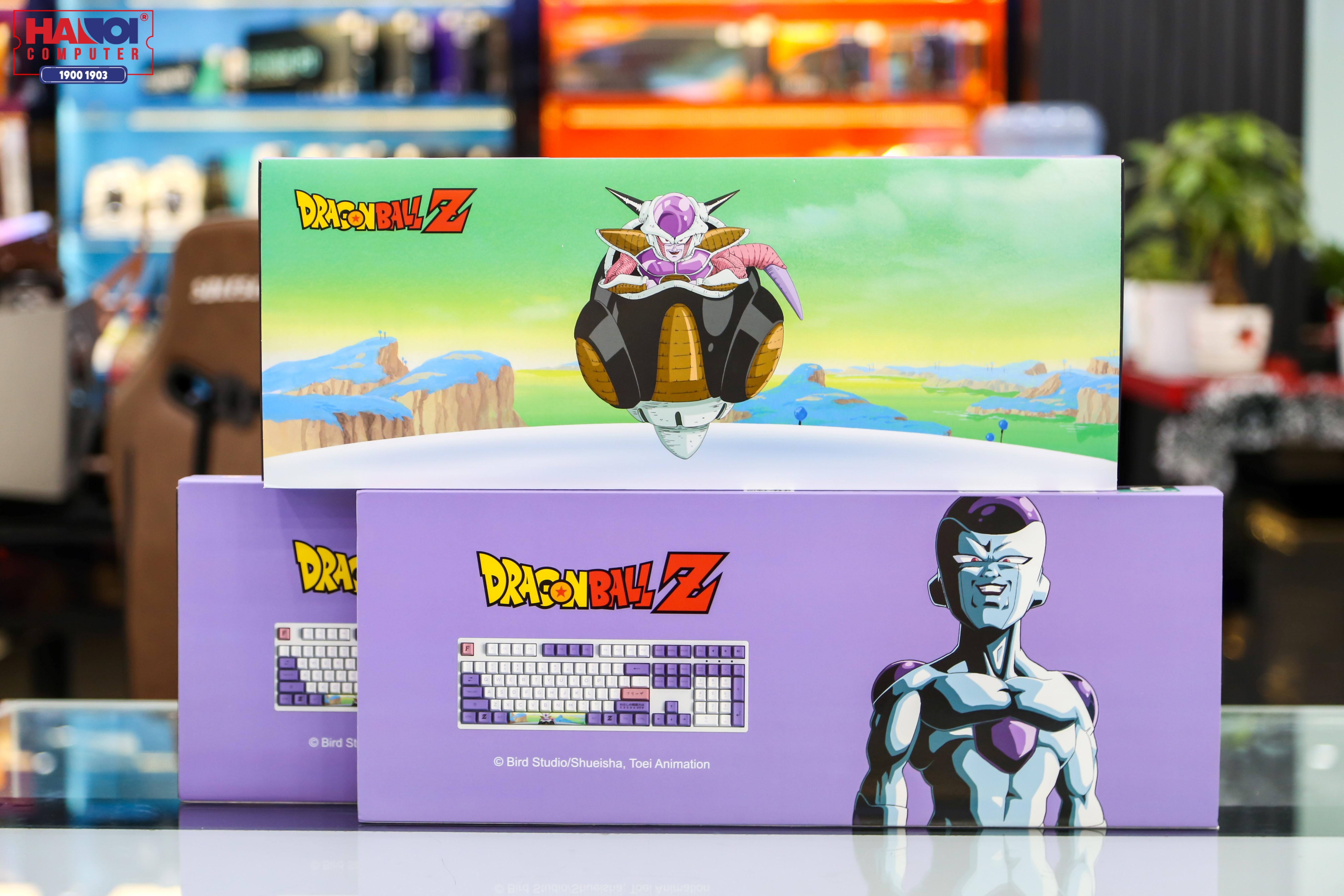 Bàn phím AKKO 3108 Dragon Ball Z - Frieza (Akko Pink sw) có thiết kế độc đáo