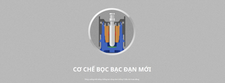 Fan Case CoolerMaster SickleFlow 120 ARGB White trục dầu