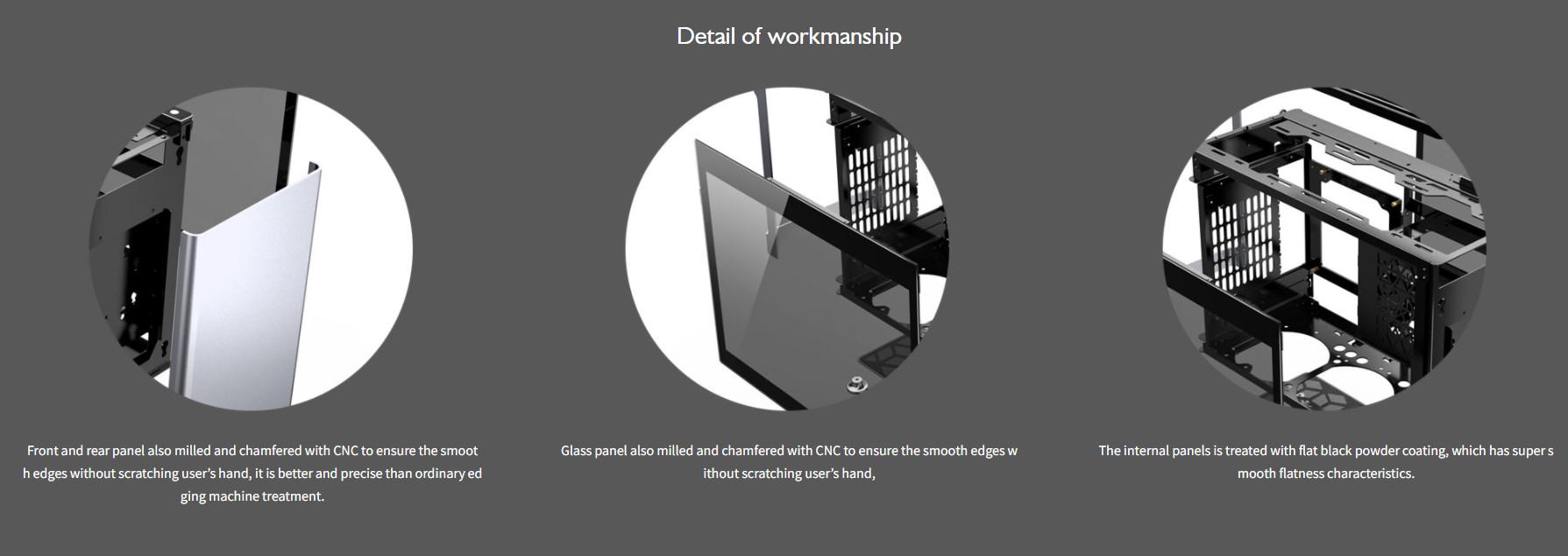 Case JonsboPlus  i100-G Silver  (Mini Tower/Màu Bạc) giới thiệu 2
