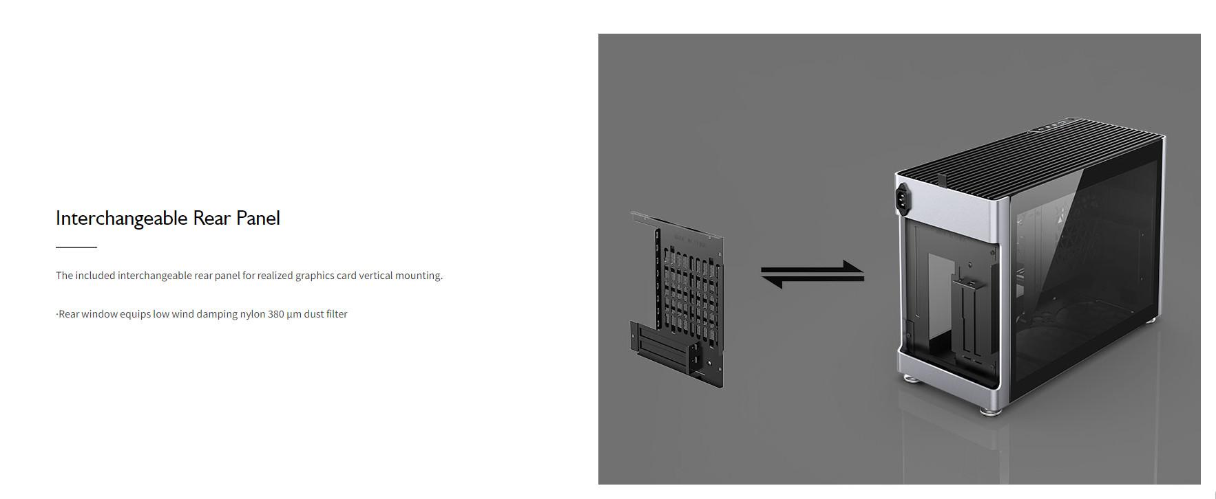 Case JonsboPlus  i100-G Silver  (Mini Tower/Màu Bạc) giới thiệu 8