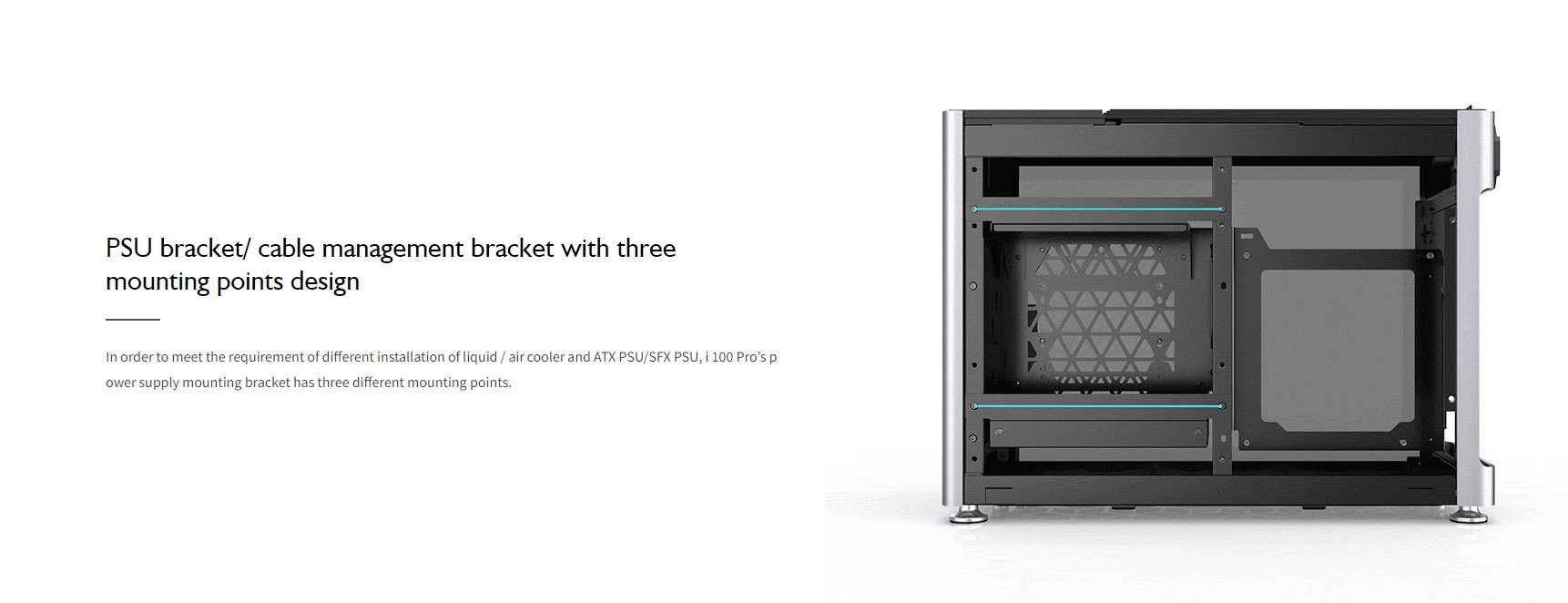 Case JonsboPlus  i100-G Silver  (Mini Tower/Màu Bạc) giới thiệu 12