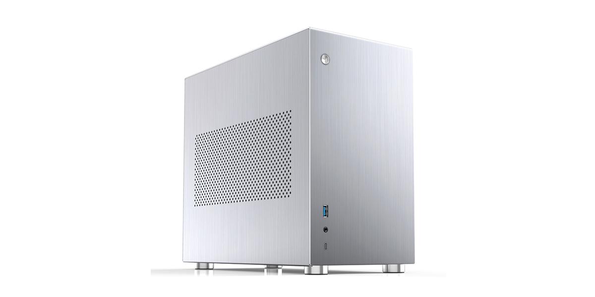 Case Jonsbo  V10-A Silver (Mini Tower/Màu Bạc) giới thiệu 3