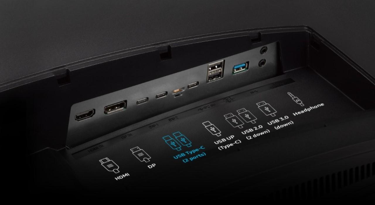 Màn hình Samsung LC43J890DKEXXV-8