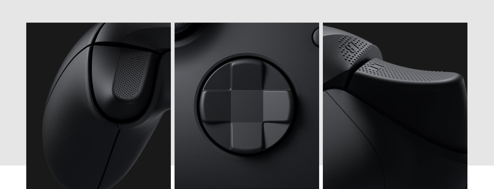 Tay cầm chơi game Xbox Series X Controller - Shock Blue có cụm D-Pad được thiết kế kiểu mới