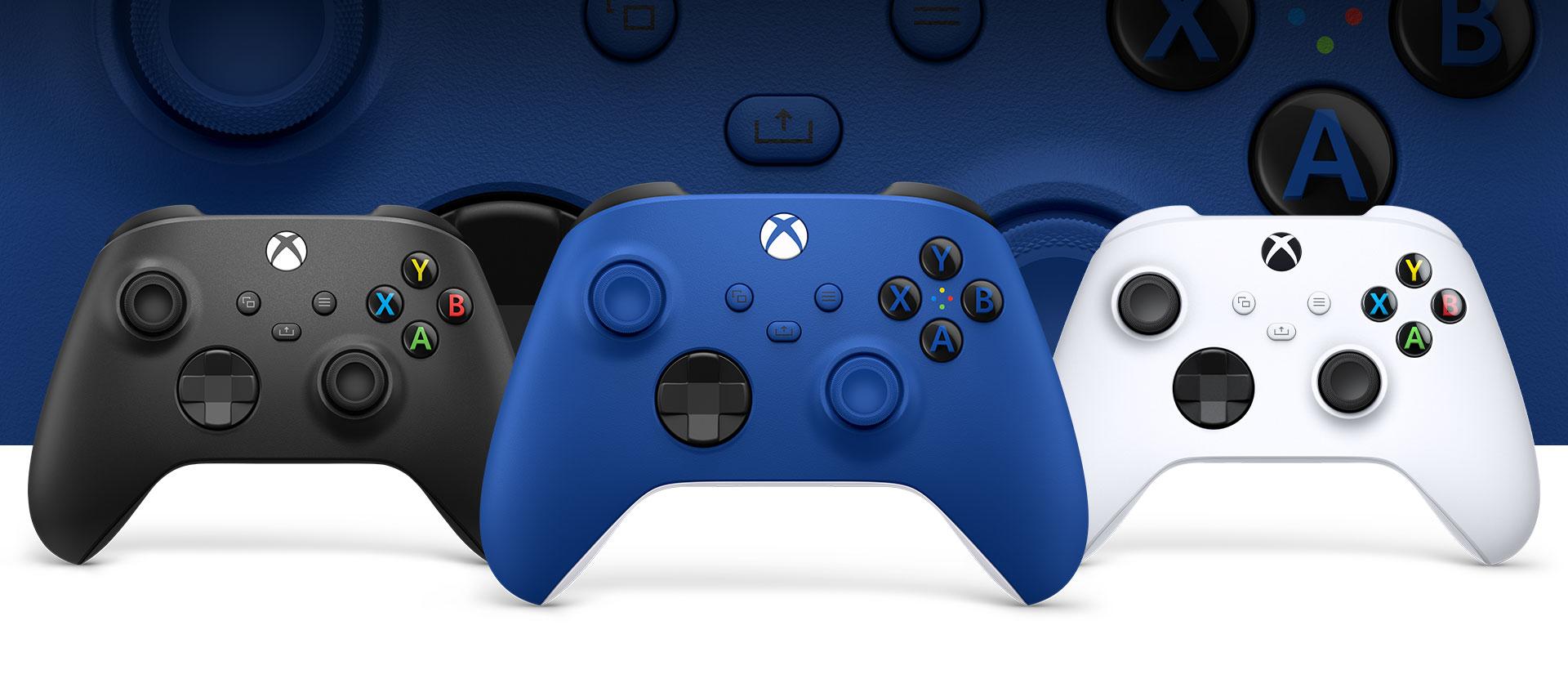 Giới thiệu Tay cầm chơi game Xbox Series X Controller - Shock Blue