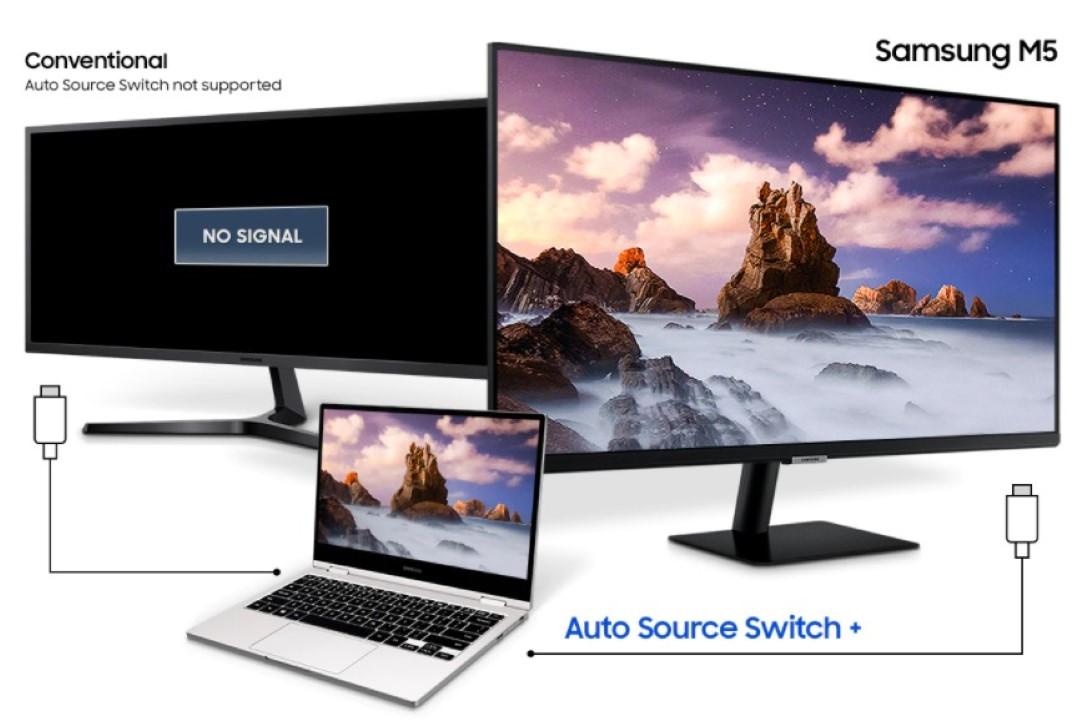 Màn hình Samsung LS27AM500NEXXV-9