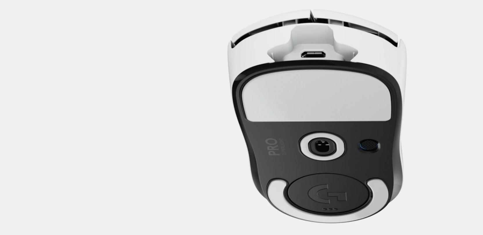 Chuột không dây Logitech Pro X Superlight White (USB/RGB/Trắng/910-005944) sử dụng vật liệu thân thiện với môi trường