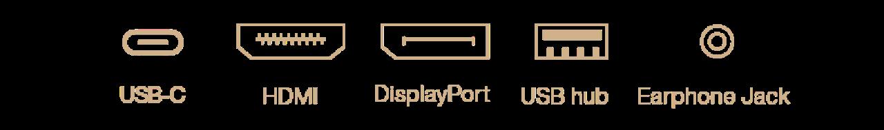 Màn hình Asus ProArt PA279CV cổng cắm