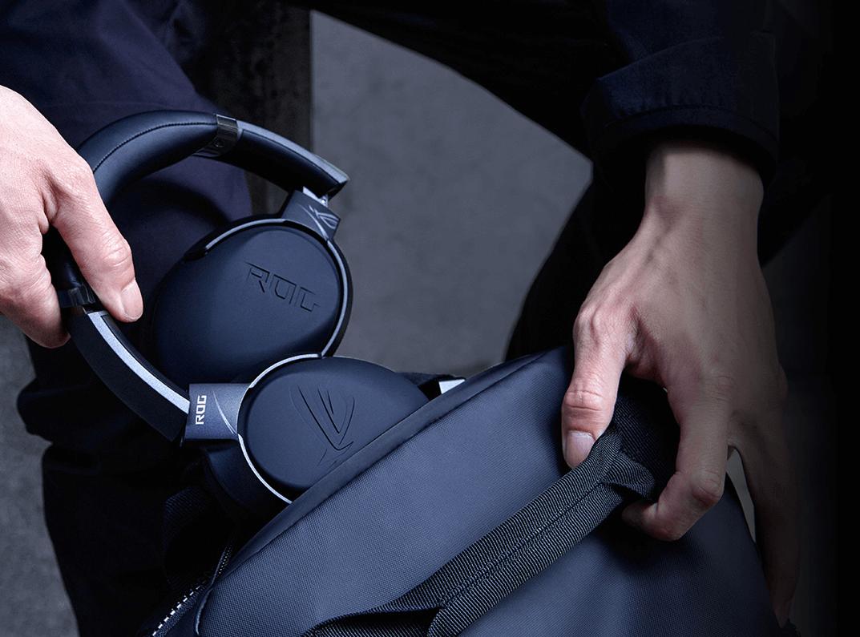 Trọng lượng của Tai nghe Asus ROG STRIX GO Core vô cùng nhẹ nhàng
