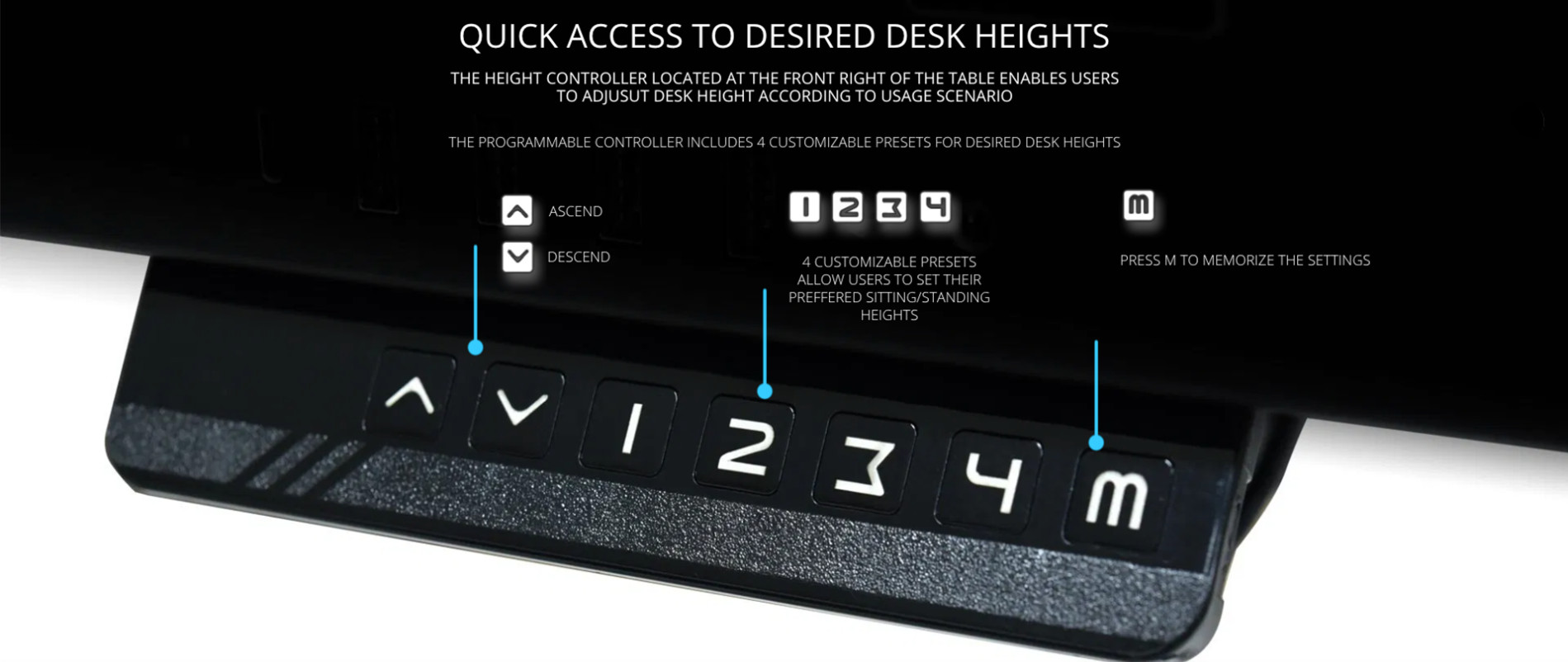 Bàn Gaming Desk Lian-Li DK-04FX giới thiệu 2