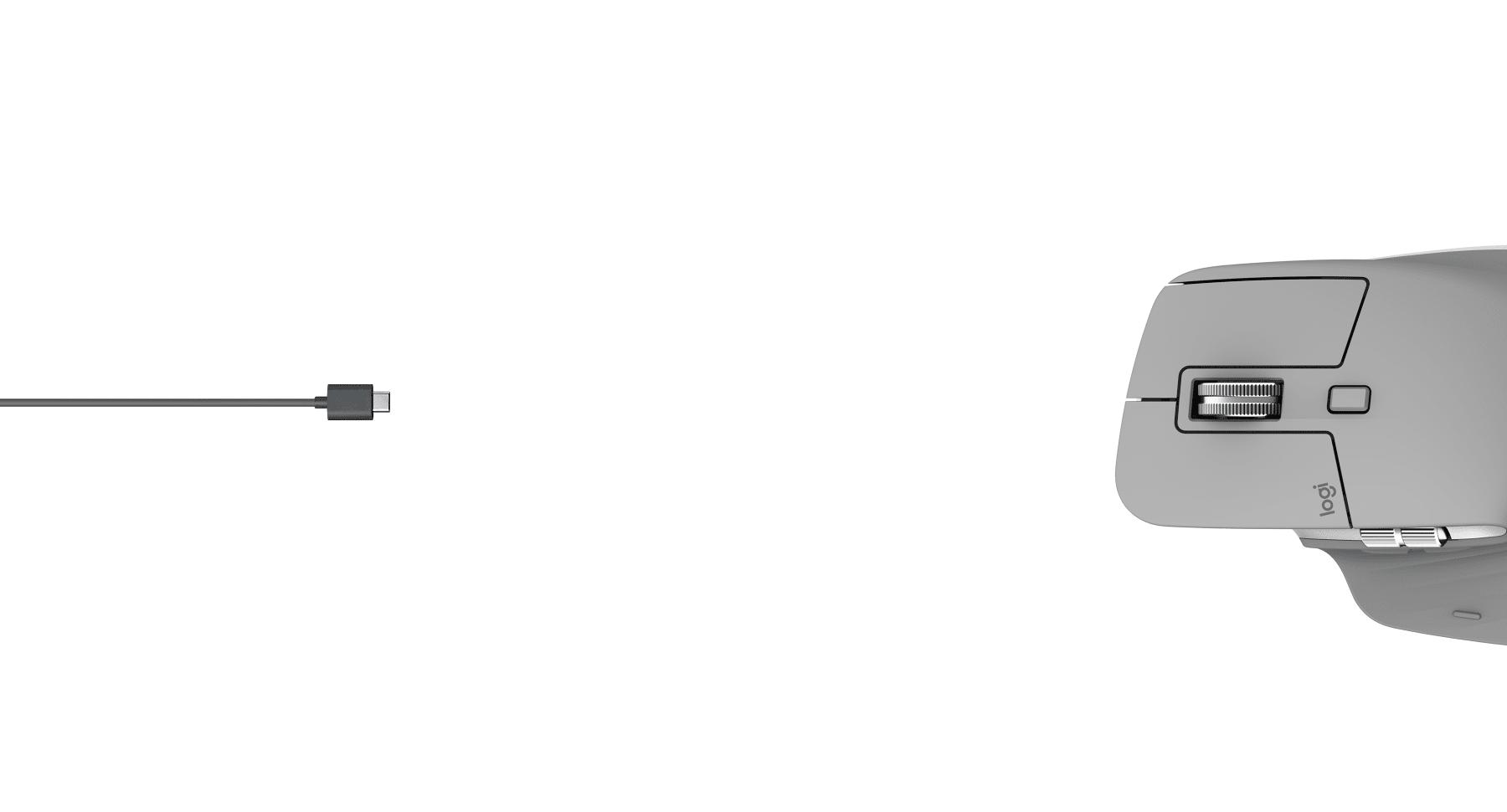 Chuột không dây Logitech MX Master 3 (USB/Bluetooth/Đen) có tính năng sạc nhanh