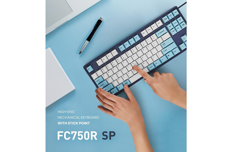Giới thiệu Bàn phím cơ Leopold FC750R SP Brown switch (White Skyblue)
